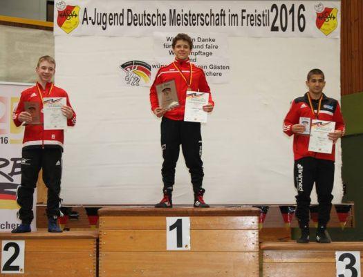 Hassan Ismail holt Bronze bei den Deutsche Meisterschaften der A-Jugend