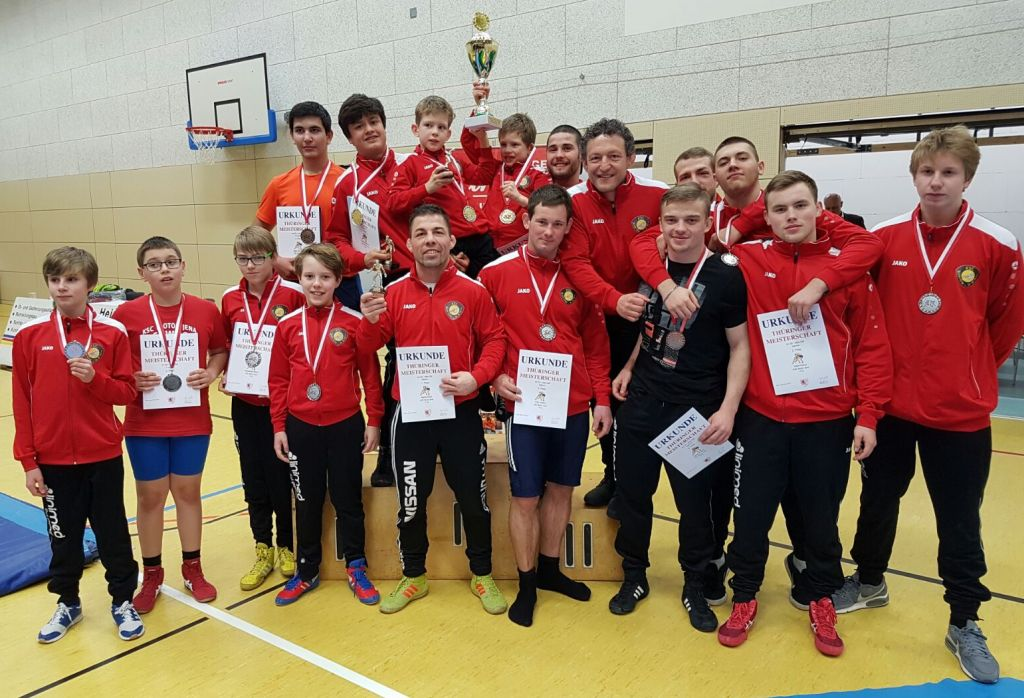 TM in Greiz- Jena holt starken dritten Platz in der Vereinswertung