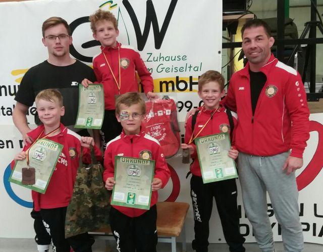 Erfolgreicher KSC Nachwuchs beim 9. Geiseltal-Cup
