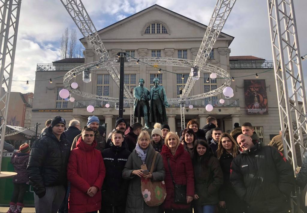 Schul-Partnerschaft zwischen Jena und Sliven