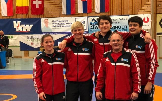 Kleine KSC-Auswahl in Österreich und Tschechien erfolgreich